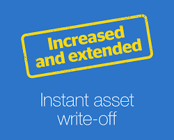 Instant Asset Write Off - Extension Announced